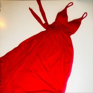 B. Darlin Red Evening Summer Dress